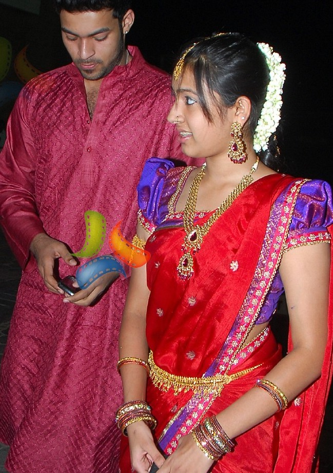 Hairstyle Coiging Allu Arjun And Sneha Reddy Wedding Pictures