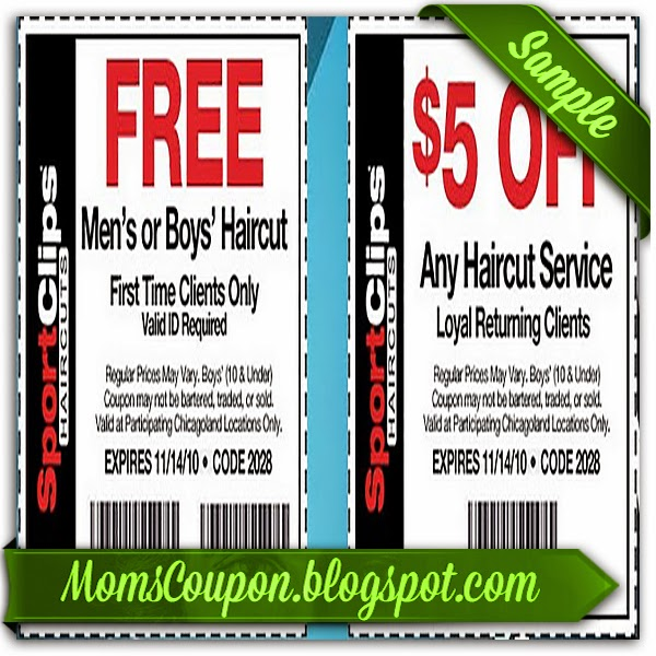 It's just a photo of Candid Sports Clips Free Haircut Printable Coupon