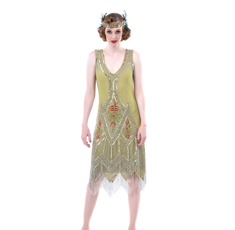 kandeej.com: 1920\'s Gatsby Prom Dress, Makeup & Hair Ideas