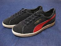 1990's PUMA SUEDE                 BLACK/RED