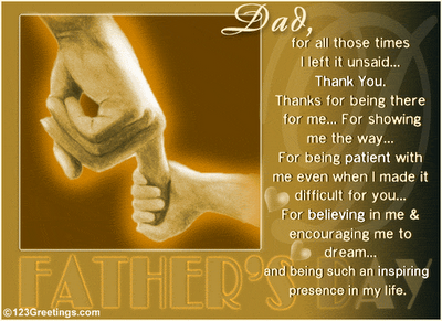 fathers day poetry