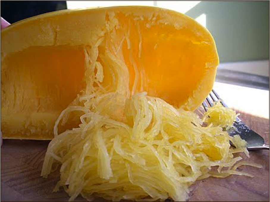 Spaghetti (Squash) Carbonara