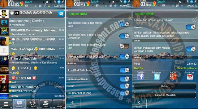 BBM Transparan For Android jelly Bean Versi Terbaru Muiz-techno