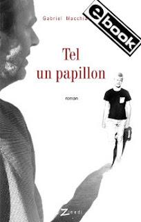 Couverture du roman Tel un papillon représentant un homme et un jeune homme se dirigeant l'un vers l'autre