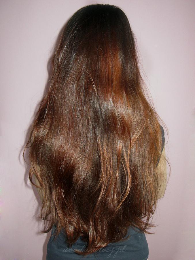 laminowanie włosów efekty