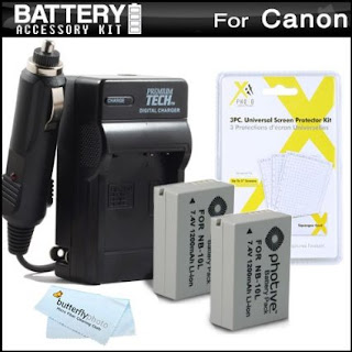 Replacement NB-10L Battery