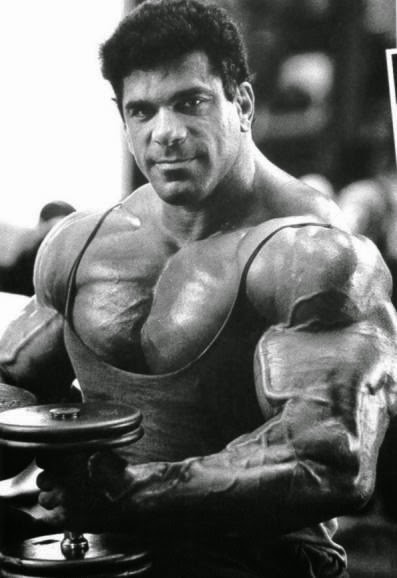 Lou Ferrigno Workout routine