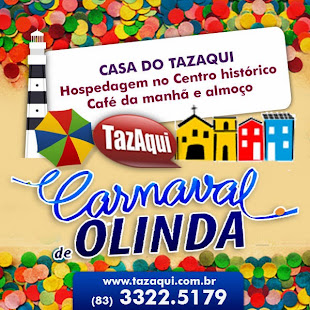 EXCURSÃO CARNAVAL DE OLINDA 2015 | CASA DO TAZAQUI