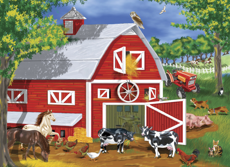 VENITISMReal Barn With Animals
