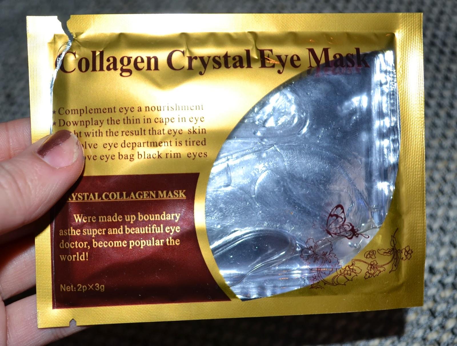Pinkshaaark Collagen Crystal Eye Mask