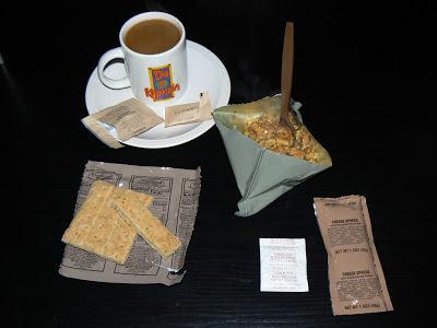MRE Menu 23, Pasta in Pesto