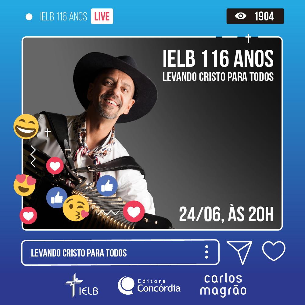 LIVE IELB 116 Anos