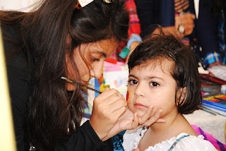 Dawood Public School Spring Cranival - Face Painting