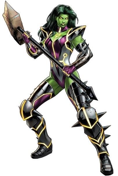 She-Hulk Skirn