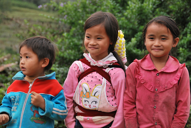 Mountainous children - Photo An Bui