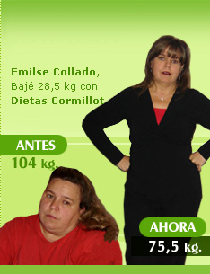 bajar 28 kilos 104 kilos 75 kilos dieta doctor cormillot antes despues