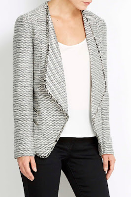 Wallis Grey Zip Jacket