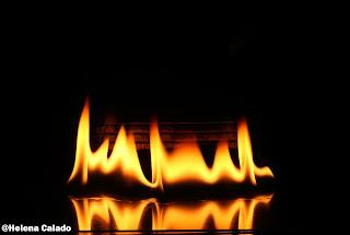 fotografia de fogo