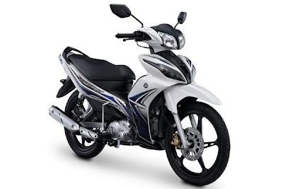 Tampak Samping Gambar New Jupiter Z White Motor Yamaha Baru