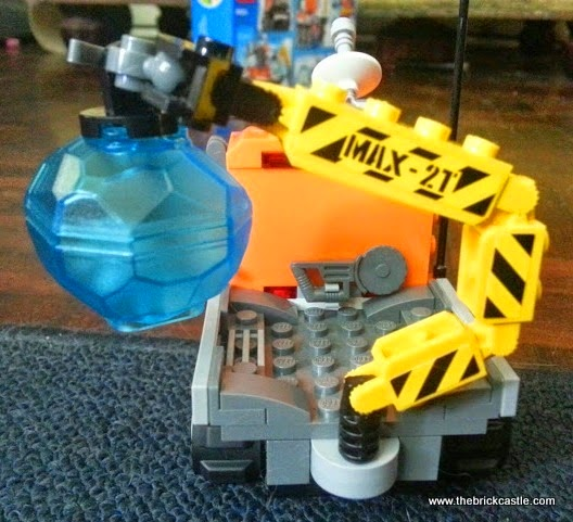 LEGO City Arctic Ice Crawler 60033 Review vehicle crane with heavy duty hook