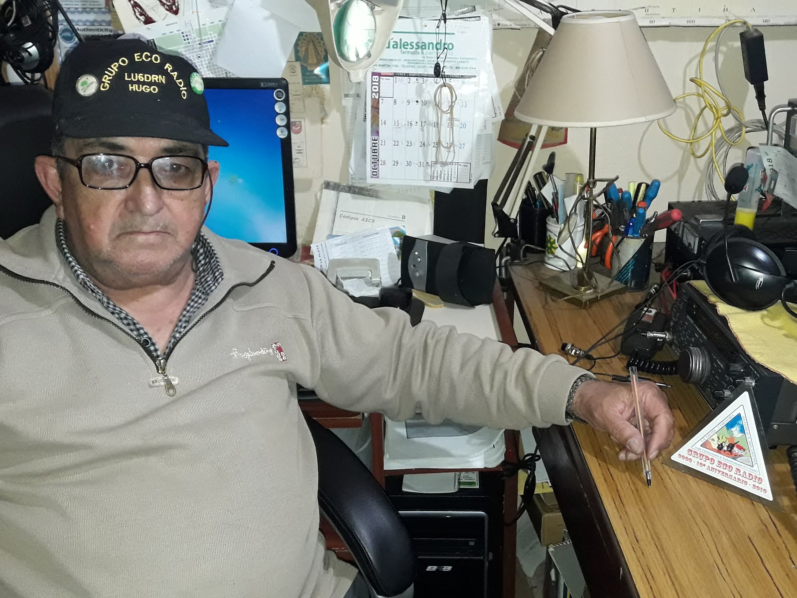 LU6DRN  Hugo Ricardo Manene