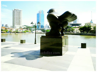 At merlion area Singapore