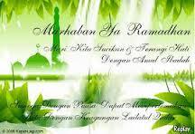 Syair Marhaban Ya Ramadhan