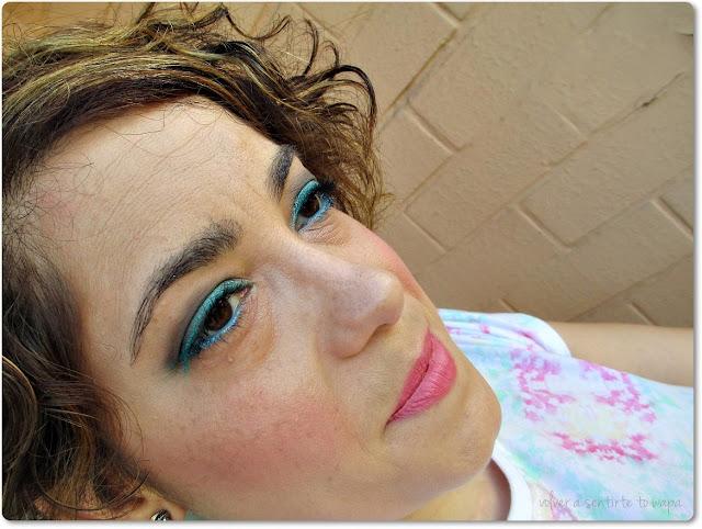 Maquíllate conmigo - azul & taupe con Sleek