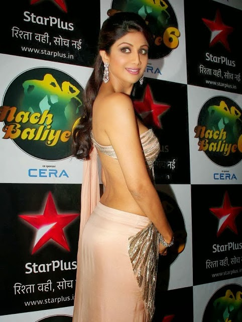 shilpa shetty hot backless picture