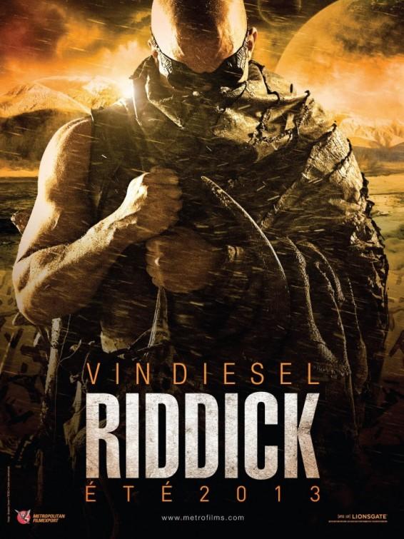 Riddick 3 - poster