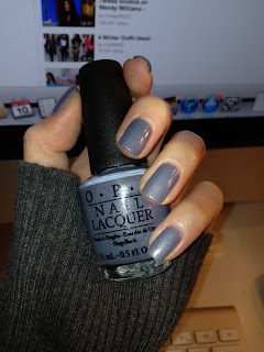 OPI I dont give a rotterdam swatch and review