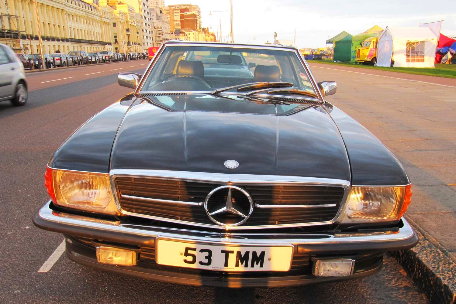 Mercedes Benz SL1 R107