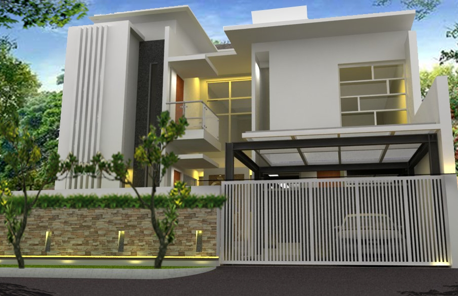 Rumah kerawang desain by Aditya Wijaya