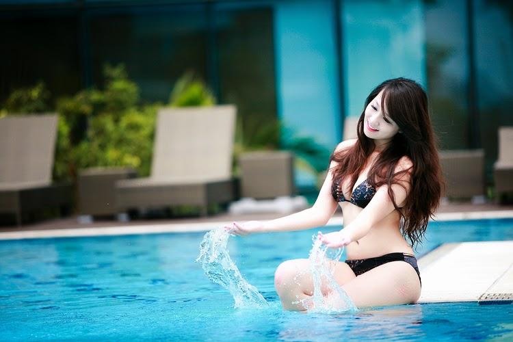 Ngắm ba vòng gợi cảm của Miss Teen Thu Hà