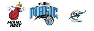 Miami Heat, Orlando Magic, Washington Wizards