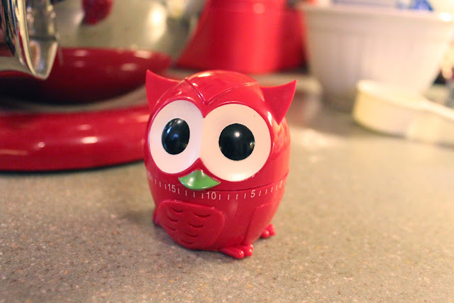 red owl kitchen timer