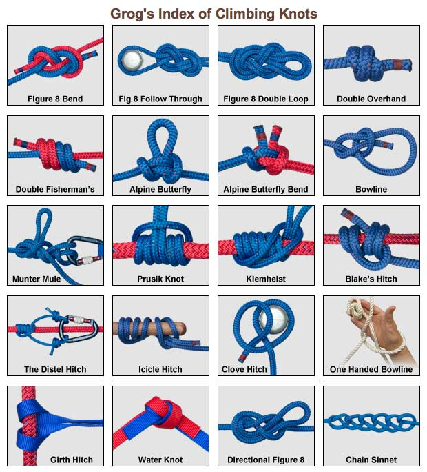Survival basics and how to survive knots that will for Fishing knots pdf