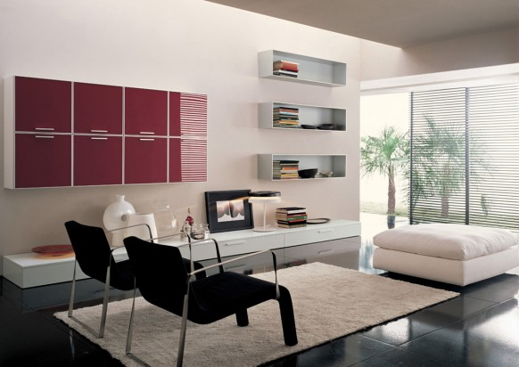 Fresh Modern Design Models of Living Rooms