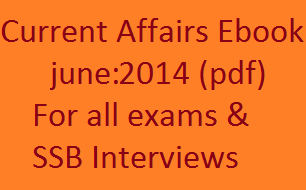 Current Affairs pdf for June:2014 for exams download pdf