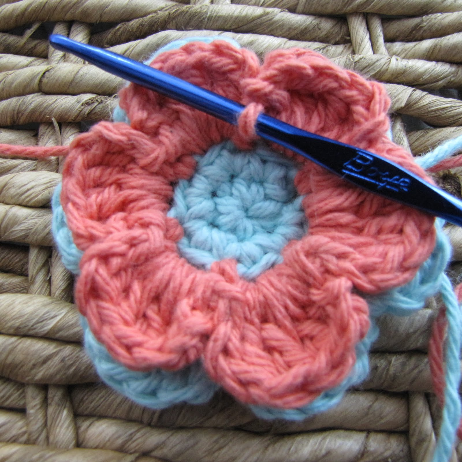 Another Crochet Flower Pattern - Daisy Cottage Designs