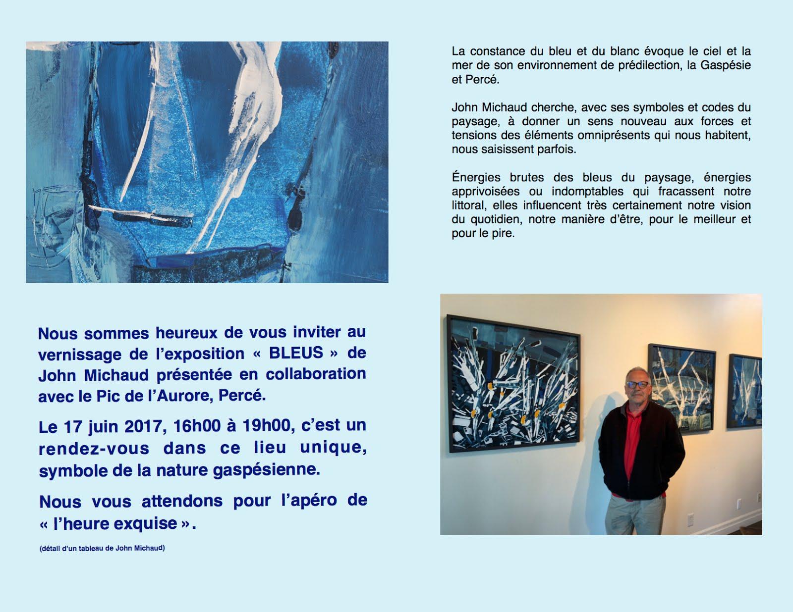 "Exposition ""BLEUS"" - 2017"