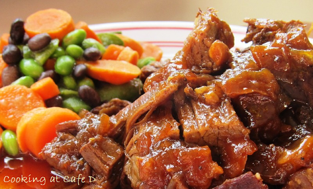 Cider Braised Beef Brisket Braising Roasting Slow Cooking Crock Pot Recipes