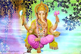 image of god ganesha for background desktop