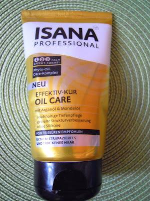 Recenzja świetnej maski Isana Oil Care