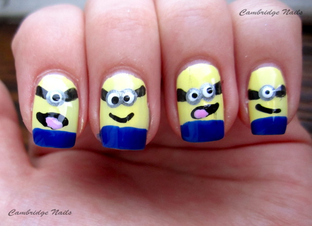 cambridge nails minion nails