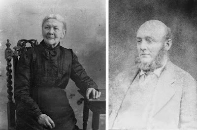 Emma Jane Stanton, née Ashbee, and William Stanton