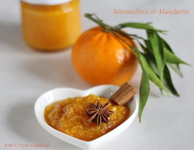 Marmellata di Mandarini, cannella e anice stellato