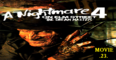 A Nightmare on Elm Street 4: The Dream Master, A Nightmare on Elm Street 4, The Dream Master, Freddy Krueger, Nightmare, Elm Street,