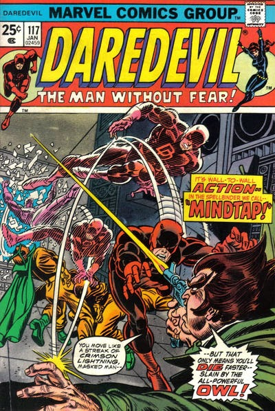 Daredevil #117, Mindtap