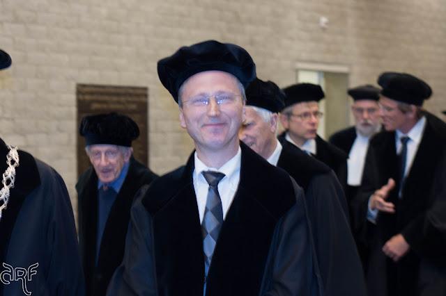 Dirk-Martin Grube and the cortege